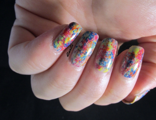 The Dala Lama's Nails: Sponged
