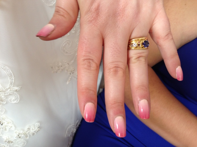 The Dalai Lama's Nails: wedding