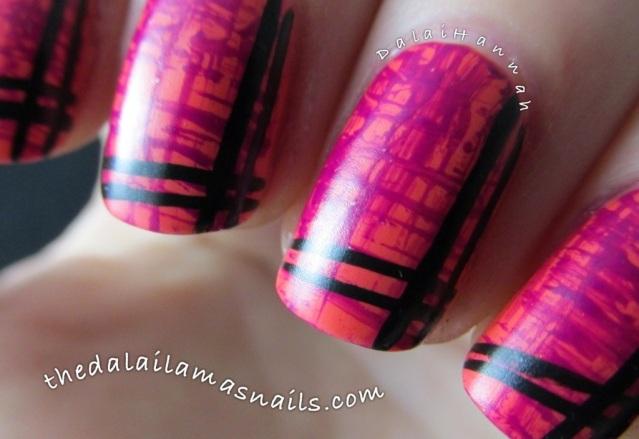 The Dalai Lama's Nails: Stripey