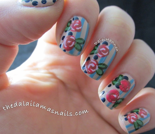 the-dalai-lamas-nails-dots-and-stripes-florals